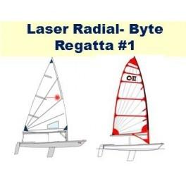 Laser Radial - Byte Regatta 1